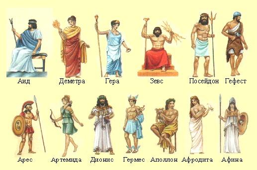 греческие изображения: